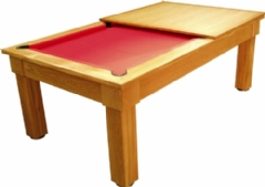 Optima Pool : Loren Timber Pool Dining Table